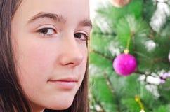Christmas portrait Stock Photos