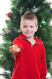 Christmas portrait Stock Photography