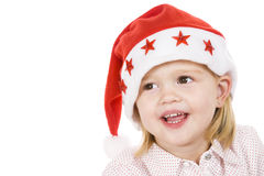 Christmas portrait Royalty Free Stock Image