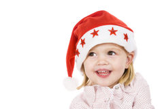 Christmas portrait Royalty Free Stock Photography