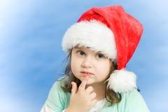 Christmas portrait of a beautiful child Stock Image