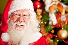 Christmas portrait of Santa Stock Photography