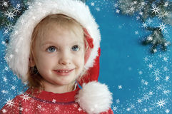 Christmas portraits Royalty Free Stock Images