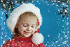 Christmas portraits Stock Image