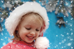 Christmas portraits Royalty Free Stock Photography