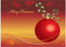 Christmas poscard Royalty Free Stock Image