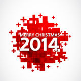 2014 christmas positive background. 2014 christmas abstract positive background Stock Images