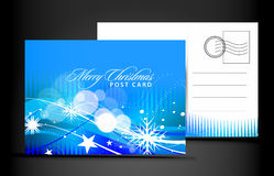 Christmas post card Stock Images