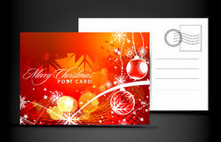 Christmas post card Stock Image