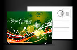Christmas post card Royalty Free Stock Photography