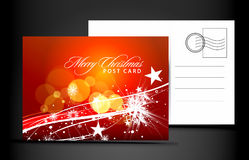 Christmas post card Stock Photos