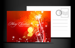 Christmas post card Royalty Free Stock Photos