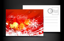 Christmas post card. Isolated on illustration background, illustration vector illustration
