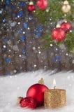 Christmas post card Royalty Free Stock Image