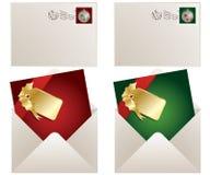 Christmas postage stock illustration