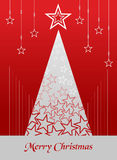 Christmas postage card background Royalty Free Stock Photo