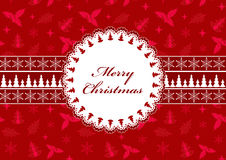 Christmas postcard. Royalty Free Stock Photos