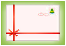 Christmas postcard Royalty Free Stock Photos