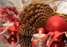 Christmas postcard Stock Photography
