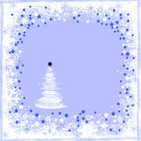 Christmas postcard. Christmas illustration as a postcard Royalty Free Stock Photos