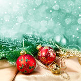 Christmas postcard Stock Photos