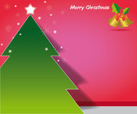 Christmas postcard Royalty Free Stock Photography