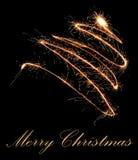 Christmas postcard Stock Images