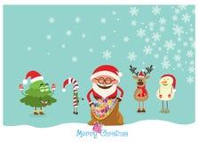 Christmas Postcard Stock Image