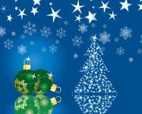 christmas postcard Στοκ εικόνες με δικαίωμα ελεύθερης χρήσης