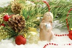 Christmas postcard Royalty Free Stock Images