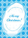 Christmas postcard background Stock Images