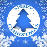 Christmas postcard Royalty Free Stock Photography
