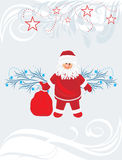 Christmas postcard. Title page for design Stock Photos