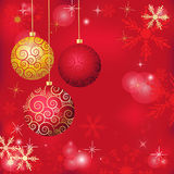 Christmas poster Stock Images