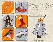 Free Christmas Poster. Royalty Free Stock Photos - 35211488
