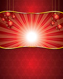 Christmas poster background Royalty Free Stock Image