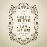 Christmas poster Stock Photo