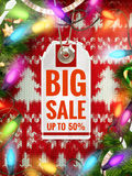 Christmas Poster Sale. Typography. EPS 10. Vector file included Stock Illustration