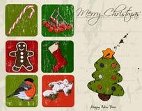 Christmas poster. Stock Image