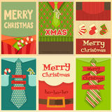 Christmas Posters Royalty Free Stock Images