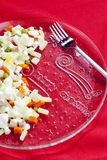 Christmas potato salad Royalty Free Stock Images