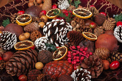 Christmas Potpourri Royalty Free Stock Photography
