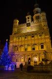 Christmas in Poznań. Old Market Square in Poznań, Poland Stock Photo