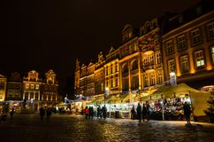 Christmas in Poznań. Old Market Square in Poznań, Poland Stock Photography