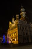 Christmas in Poznań. Old Market Square in Poznań, Poland Royalty Free Stock Images