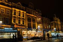Christmas in Poznań. Old Market Square in Poznań, Poland Royalty Free Stock Photo