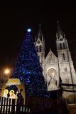 Christmas in Prague Royalty Free Stock Photos
