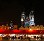 Christmas Prague Royalty Free Stock Images