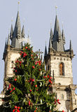 Christmas in Prague Royalty Free Stock Photography