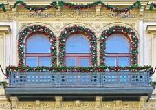 Christmas in Prague, Czech Republic Royalty Free Stock Photos